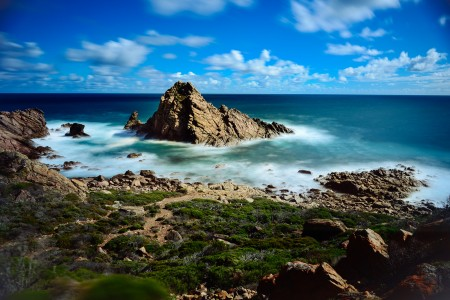 Sugarloaf Rock from the lookout point