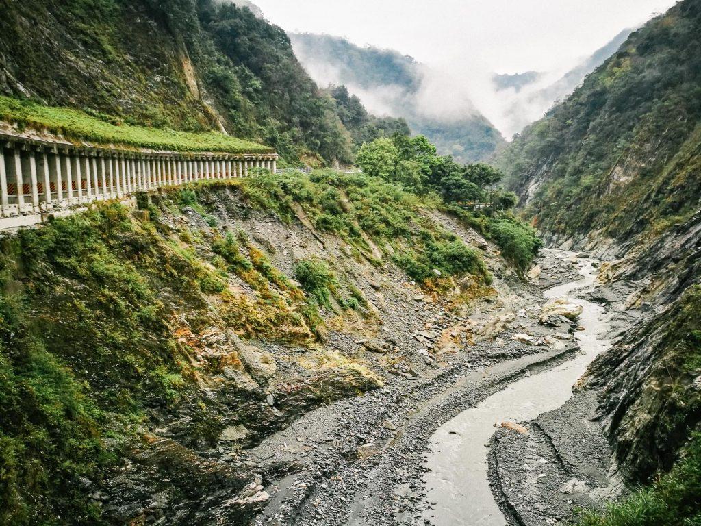 Tianxiang Taroko Gorge - Baiyang Waterfall Trail Entrance