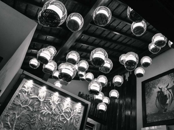 Balinese Interior Light Deco