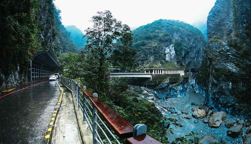 Zhuilu Old Trail, Taroko Gorge