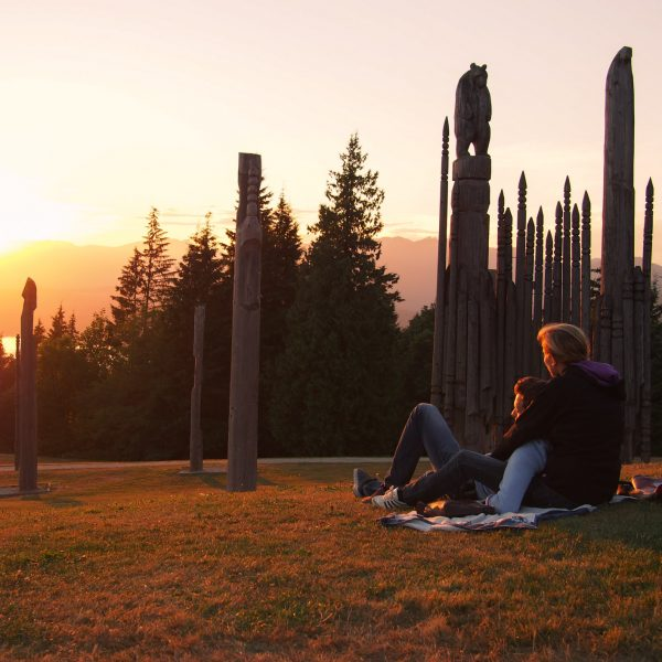 Watching the Vancouver sunset